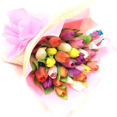 Rainbow of Holland Tulips - Best Seller!