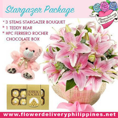 Pretty in Pink Stargazer Package