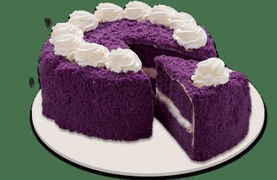 Ube Cake Large Size