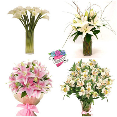 Lilies Flower Subscription (4 bouquets)