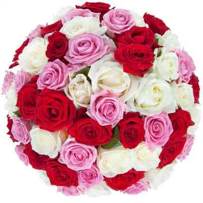 Customize Assorted Ecuadorian Roses Bouquet