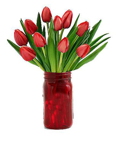 10 Tulips Bouquet