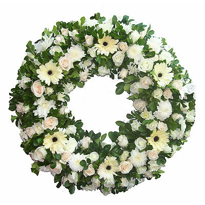 Sympathy Wreath Purity