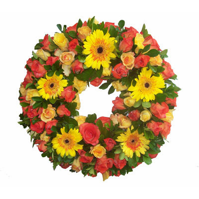 Sympathy Wreath Shine
