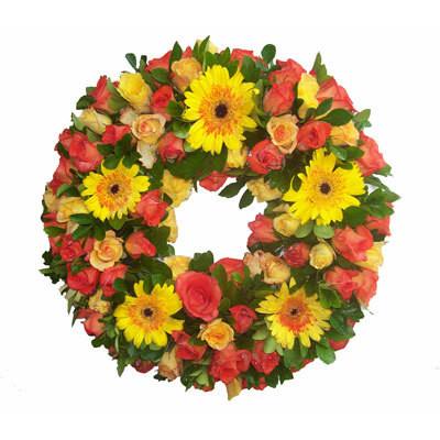 Sympathy Wreath Shine