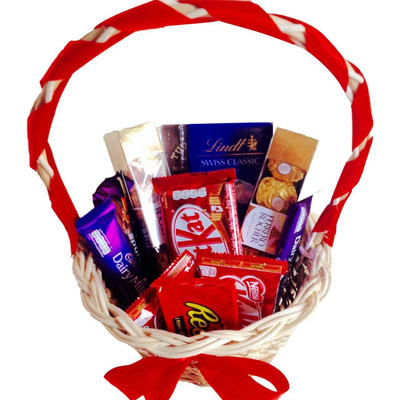 Sweet Chocolate Lovers Basket