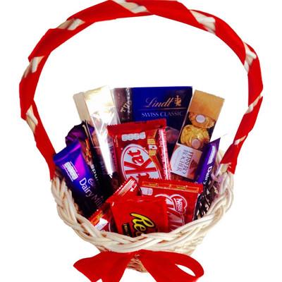 Sweet Chocolate Lovers Basket