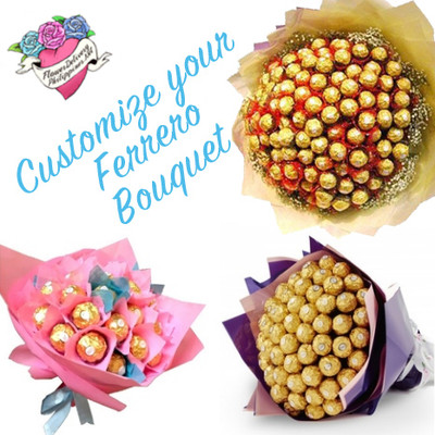 Customize Ferrero Bouquet