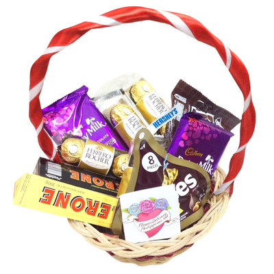 Premium chocolates basket