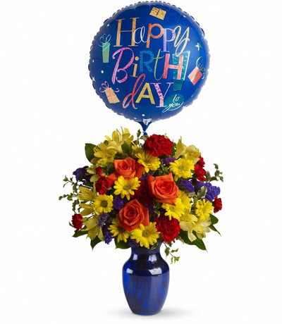 Birthday Premium Assorted Flowers Bouquet