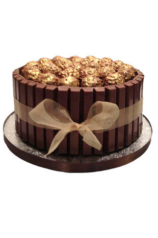 Ferrero Rocher Kit Kat Chocolate Cake Regular
