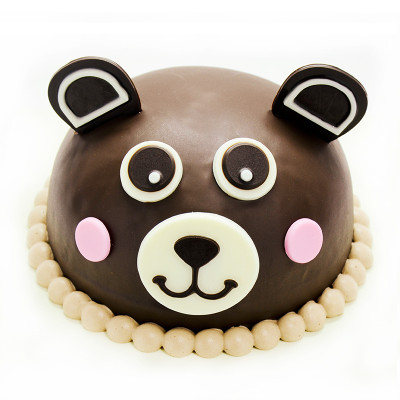 Teddy Chocolate Cake