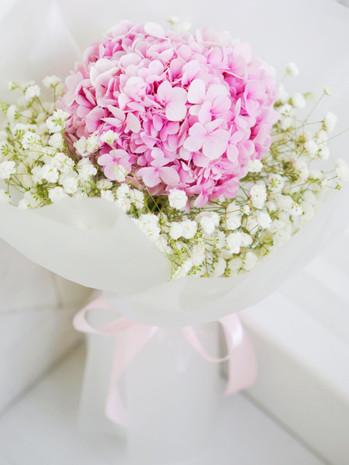 Baby Hydrangeas Bouquet