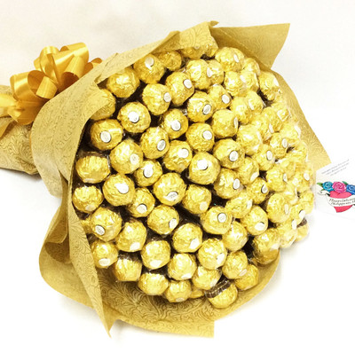 Giant 100 Ferrero Bouquet