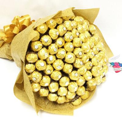 Giant 100 Ferrero Bouquet