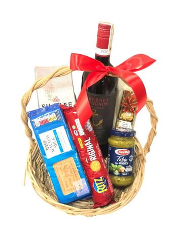 Cabernet & Treats Gift Basket