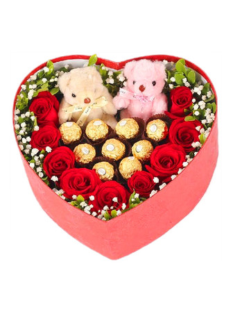 Candy Lovers Heart Box - Best Seller!