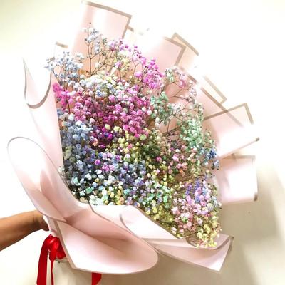 Unicorn Baby Breath Bouquet