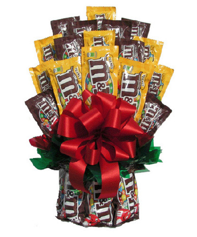 M&M's Candy Bouquet