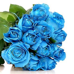 12 Blue Roses Royal Bouquet