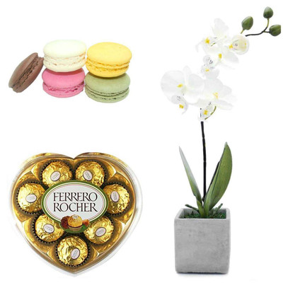 Orchid Sweet Heart Package