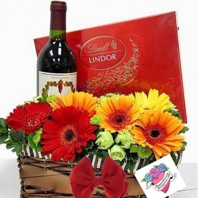 Date Night Flower Basket