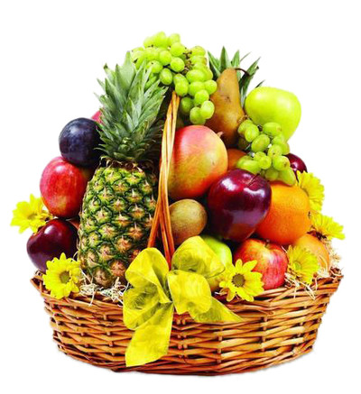 Large Tropicana Basket