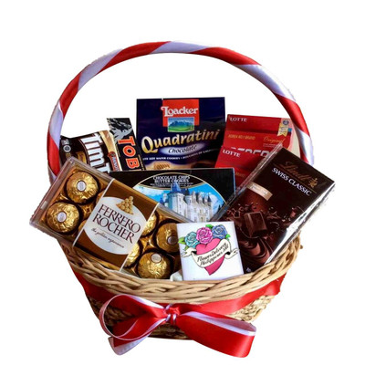 Cookies and Chocolate Lovers Basket