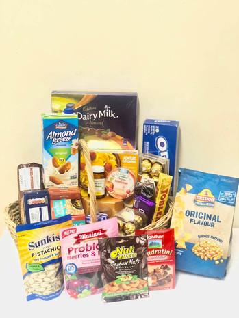 Vitamin C, Gluten Free & Indulgence Basket