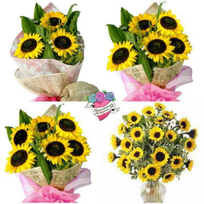Mother's Day Sunflowers