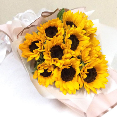 10 Sunflower Bouquet