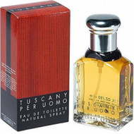 TUSCANY PER UOMO MINI FOR HIM 8ML: NEW AND UNOPENED PACKAGE… GENUINE & 100% AUTHENTIC FRAGRANCE…