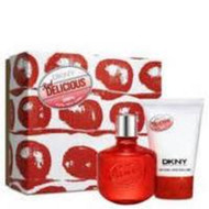 DKNY RED DELICIOUS 2PCS GIFT SET FOR HER: NEW AND UNOPENED PACKAGE? GENUINE & 100% AUTHENTIC FRAGRANCE?