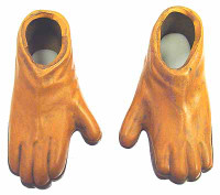 Planet of the Apes: Dr. Zaius - Ape Feet (Fit on Regular Feet Like a Shoe)