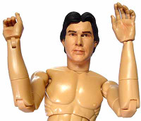 Star Wars: Han Solo Bespin - Nude Figure