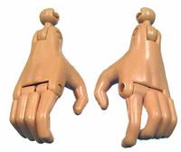 LOTR: Gandalf the White - Hands