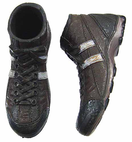 """1//6 Scale Bank Robber Shoes for 12/"""" Hot Toys Dragon TTL Action Figure Body"""