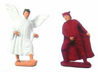 My Name Is Bruce: Bruce Campbell - Angel & Devil Shoulder Figurines (Good & Bad Conscience)