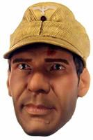Indiana Jones: Indiana Jones in German Disguise - Head w/ Hat (Non-Removeable)