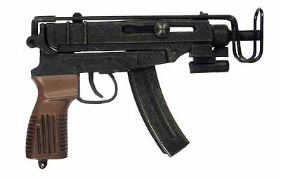 Resident Evil 5 Jill Valentine Bsaa Scorpion Machine Gun
