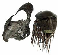 Predators: Falconer - Head w/ Mask Shoulder Armor (AS-IS) (See Note)
