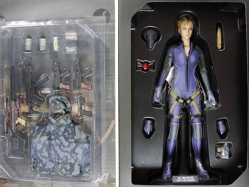 Resident Evil 5 Jill Valentine Battle Suit Boxed Figure