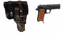 Defense of The Reich Fighter Pilot - Pistol w/ Holster