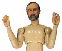 Brotherhood of Arms: Major General William Tecumseh Sherman - Nude Figure (AS IS) Hands don't match Picture.