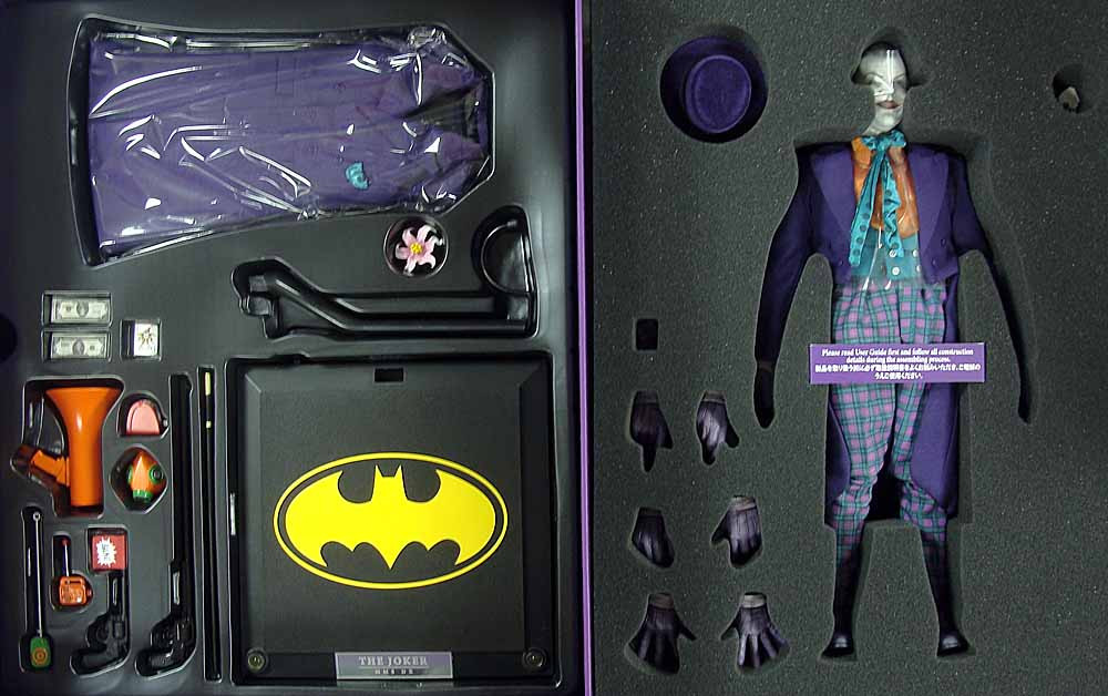 Batman 1989 Joker Jack Nicholson Boxed Figure Toy Anxiety