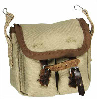 French 1940 Infantryman - Haversack / Pouch w Pockets
