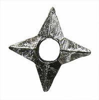 Ninja Accessory Set - Loose - Throwing Star B (Metal)