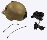 Special Forces CJSOTF Afghanistan - Helmet w/ Accessories