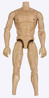 Gladiator Warriors: Flamma - Nude Muscular Body (Includes Open Hands)
