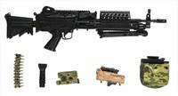 US Army Ranger Gunner In Afghanistan - Machine Gun w/ Accessories